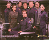 """Cast"" of the Star Trek Enterprise - Television Series"