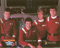 """Cast"" of the Star Trek - The Wrath Of Khan - Movie"