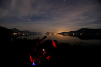 Astrophotography at Fintry Prov. Park, near Vernon, BC - Photo Credit: Frances Szelewicki