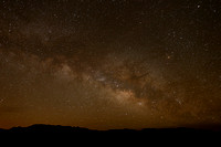 Milky Way over the Painted Pony Resort in New Mexico